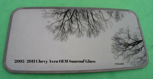 2005-2011 CHEVY AVEO AVEO5 OEM FACTORY SUNROOF GLASS NO ACCIDENT FREE SHIP