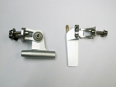 Aluminum Rudder and Strut for RC Small Boat