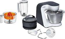 Bosch MUM50123 MUM5 Küchenmaschine weiß-anthrazit 800 Watt