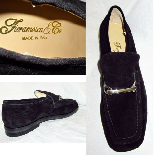 Italy end Loafers High Made Detail In Suede 6m Chrome Shoes 225 New Fieramosca PTnOHH