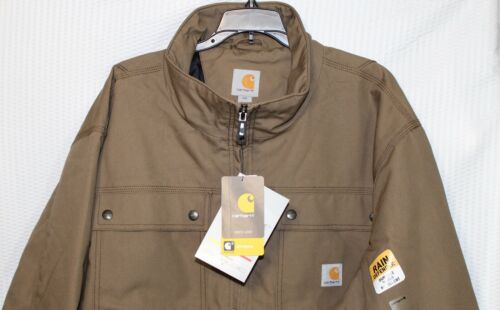 101492 908 Carhartt Quick Duck Jefferson Traditionnel Homme Veste marron