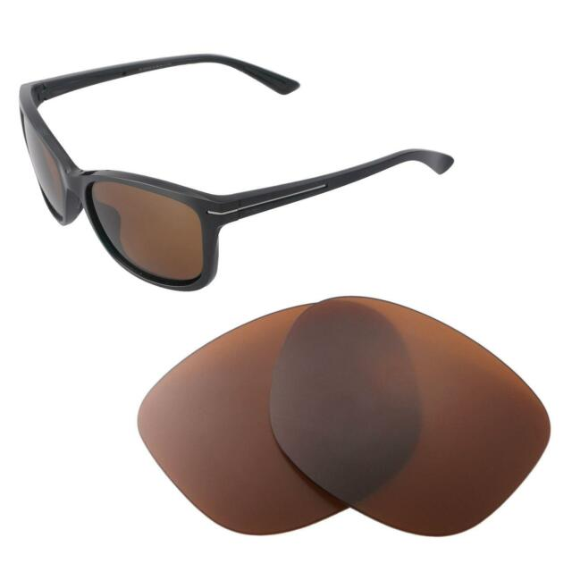 756100025f Walleva Polarized Brown Replacement Lenses for Oakley Drop in ...