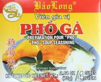 2.64oz Bao Long Pho Ga Chicken Soup Seasoning Cubes