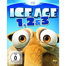 Ice Age - Box Set Teil 1-3 / 3-Disc-Box-Set / 3-Blu-Ray`s / Blu-Ray