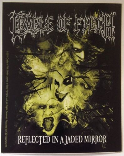 "Cradle of Filth Sticker 4/""x4.5/"""
