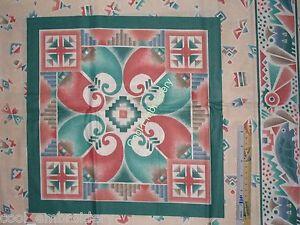 Native-American-Indian-cotton-quilt-pillow-panel-fabric-set-Choose-design