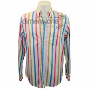 CAMICIA-UOMO-TG-39-MARINA-YACHTING-a-righe-CAMICIE-MEN-HOMMES-CHEMISE-CAMISETA