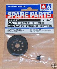 Tamiya 50877 TA04 Ball Diff Pulley (32T) (TRF414/TA04R/TLT-1/TA04 Pro), NIP