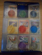 Neo 3 Japanese Pokemon Promo Folder Ultra Rare 9 Card Set Mint Condition