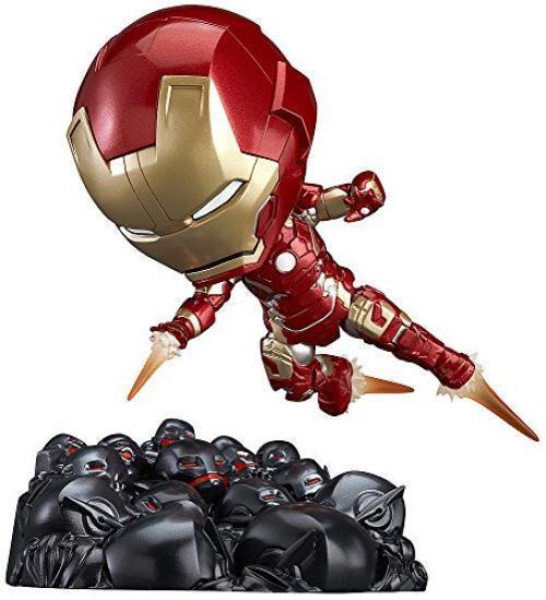 NEW Nendgoldid 543 Iron Man Mark 43 Hero's Edition + Ultron Sentries Set Figure