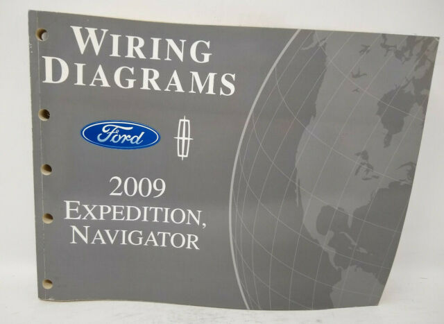 Oem 2009 Ford Expedition  Lincoln Navigator Wiring