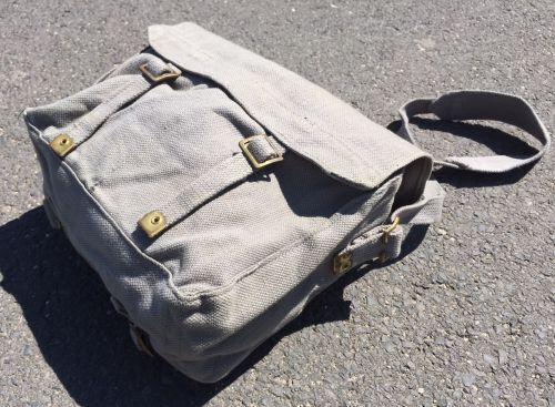 Original Englische Armeetasche feldgrey - oliv