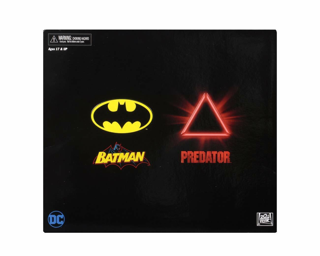 San Diego comic-con 2019 NECA exclusivo escala 7  Figuras De Acción Batman Vs Projoator 2-Pack
