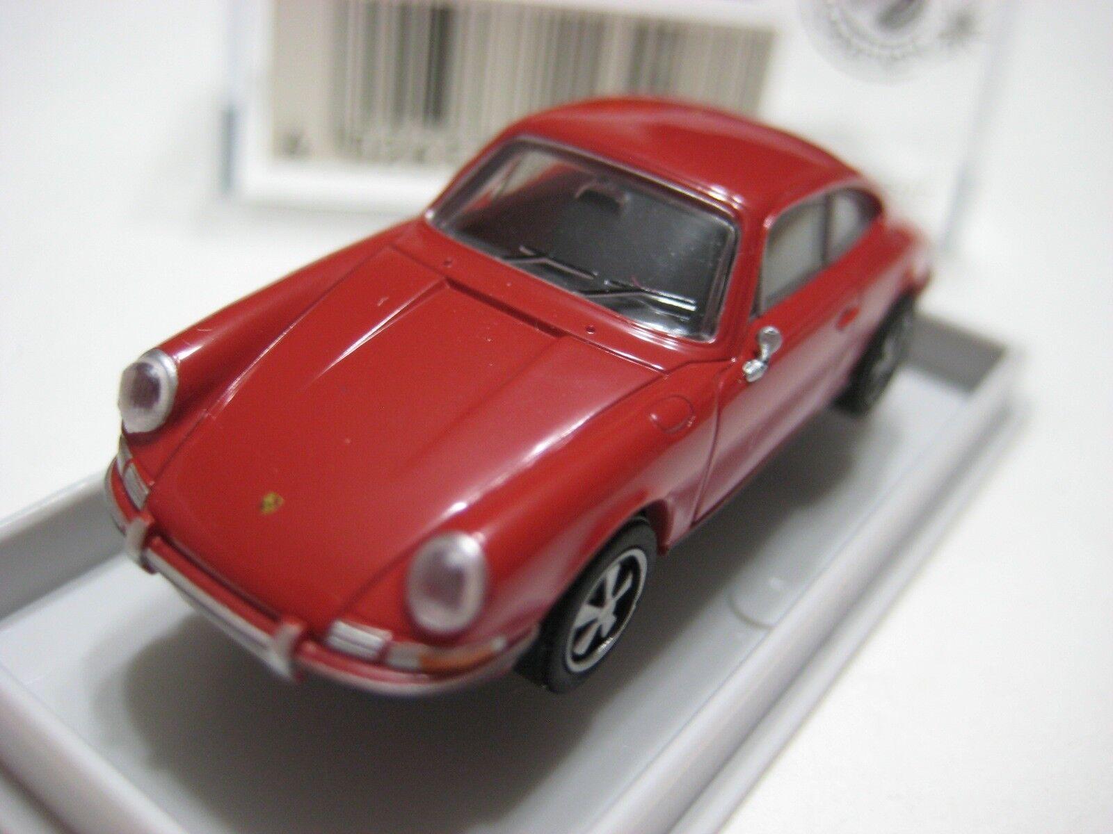 tienda en linea Brekina Brekina Brekina Decoración De Parte súperior (Alemania) Rojo Porsche 911S Coupe 1 87 Nuevo en caja de plástico  80% de descuento