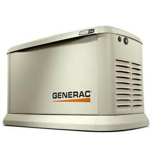 Generac 70422 22/19.5,000-Watt Aluminum Wi-Fi Air-Cooled Standby Generator