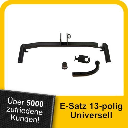 AHK Für Seat Cordoba Stufenheck 99-02 Kpl Anhängerkupplung starr+ES 13p uni