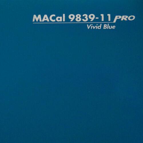 7,32 € //m 3 m Plotterfolie signalblau glänzend Selbstklebefolie 61,5 cm