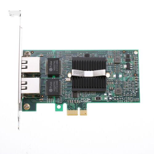 US Intel 82575EB Dual RJ45 Port 1Gbps Ethernet PCI-E X1 Gigabit Server Adapter