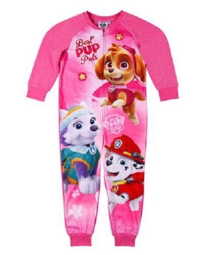 tuta del sonno Paw Patrol Jumpsuit overall per bambine rosa a partire da dimensioni 92//104