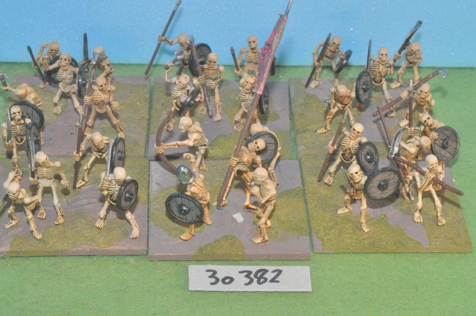 Fantasy Sigmar 30 esqueleto guerreros de la muerte no-muerte no muertos warhammer (30382)