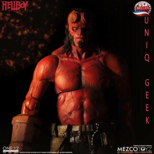 po Mezco Toyz 1//12 Hellboy 2019 Film One:12 action collective Figure US Vendeur