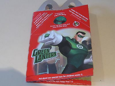 McDonald's - 2012 Green Lantern & Squinkies  Happy Meal Box  Highly collectible