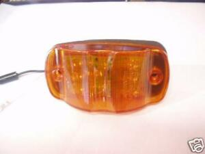 Maxxima-4-034-Amber-Lens-14-LED-Marker-Clearance-Combination-Light-RV-Trailer
