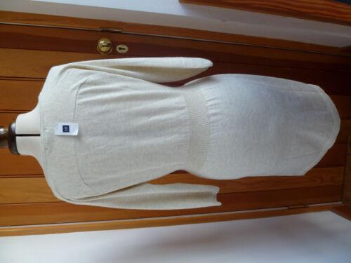GAP CREAM BEIGE OATMEAL KNITTED JUMPER TUNIC DRESS S M L BNWT NEW