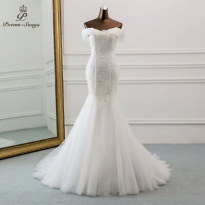 Mermaid Wedding Dress Lace Bridal Gown