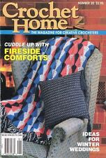 Crochet Home No. 20 Magazine Arrowhead Afghan, Baby's Best, and Much More