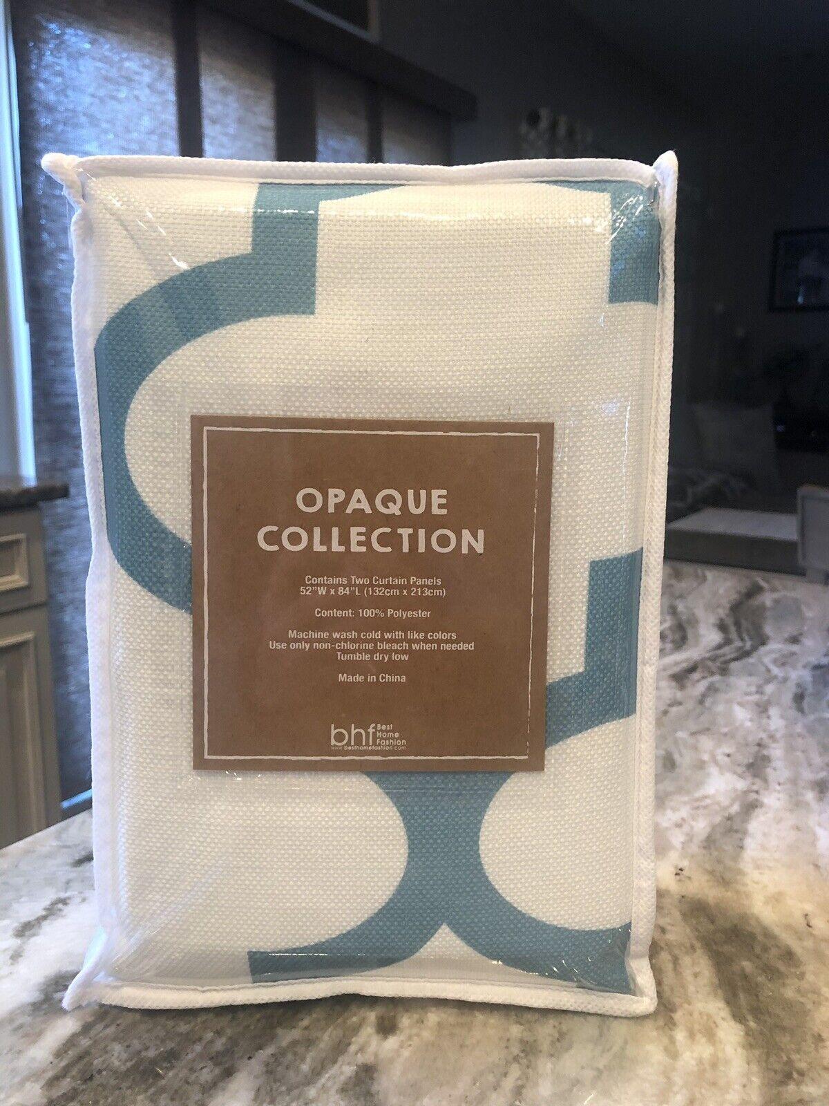 Best Home Fashion Inc Modern Plaid Room Darkening Curtain Panels Set Of 2 For Sale Online Ebay