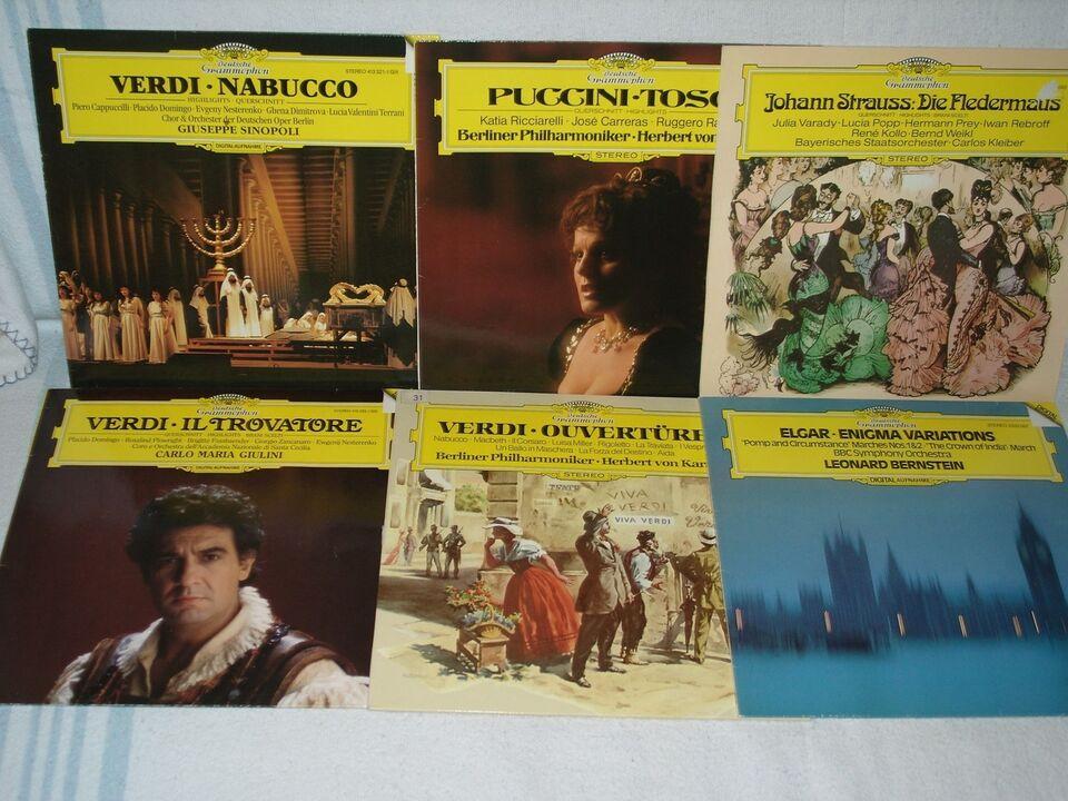 LP, blandet, Klassisk
