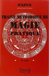 Traite-methodique-de-magie-pratique-de-Papus-Neuf