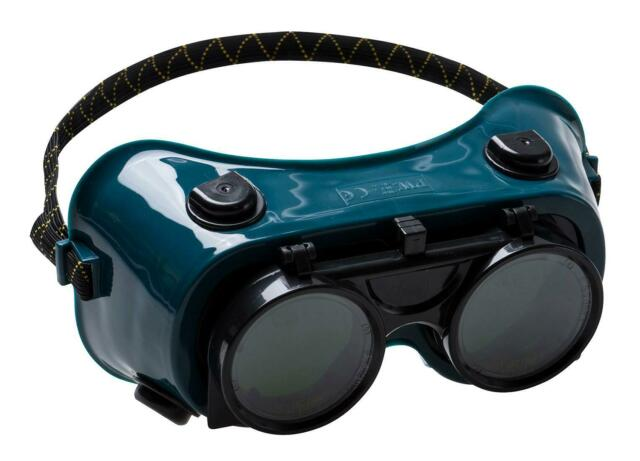 1,6 or 12 Pairs Portwest PW60 Gas Welding Safety Goggles