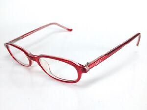 54bec731bf1 Details about Ralph Lauren Polo Prep 340 Prescription Eyeglasses Red 0P3K  44-17-130 R2