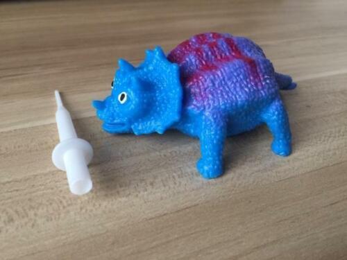 Dinosaure BLOW UP GONFLABLE balle drôle Rebondissant Jouet Stress ADHD Sensory Aid UK