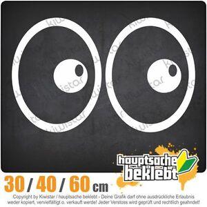 Roll-yeux-chf0234-in-3-Grosen-JDM-lunette-arriere-autocollant