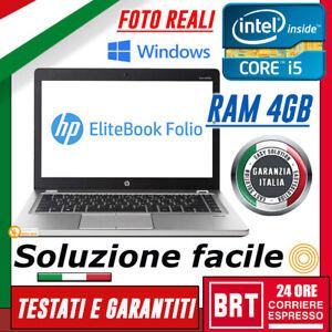 PC-NOTEBOOK-PORTATILE-HP-FOLIO-9470M-14-034-CPU-i5-RAM-4GB-LICENZA-WIN-10-PRO