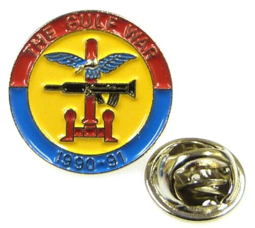 2 Types Available Gulf War 90-91 Veterans Lapel Pin Badge