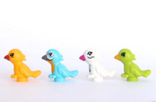 4x Lego friend animal bird pet lot