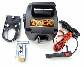 Raptor 4x4 Tyrex Portable Winch 2000lb Off Road Recovery Winching