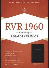 RVR 1960 Biblia para Regalos y Premios, Negro Imitación Piel (2016, Imitation...