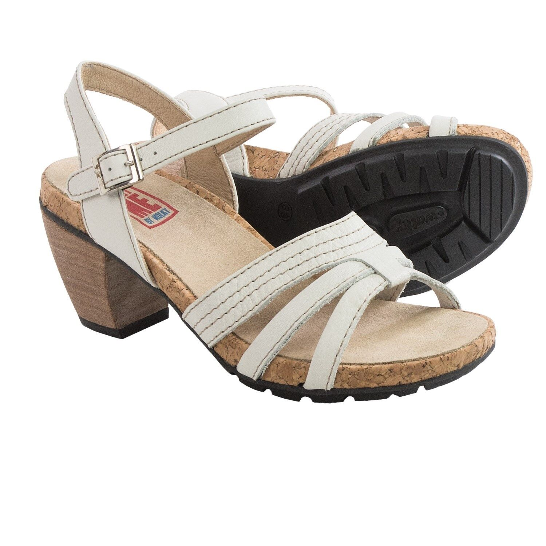 Gorgeous Wolky Aquaba Leather Sandals US 11.5 Medium NIB