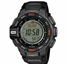 Casio ProTrek Triple Sensor Watch PRG-270-1ER Solar Resin Black  New & Tags  Box