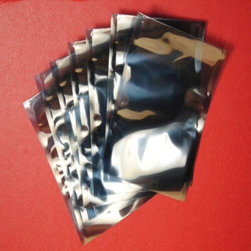 6*8cm  Open Top Anti Static Bag  APET Translucent