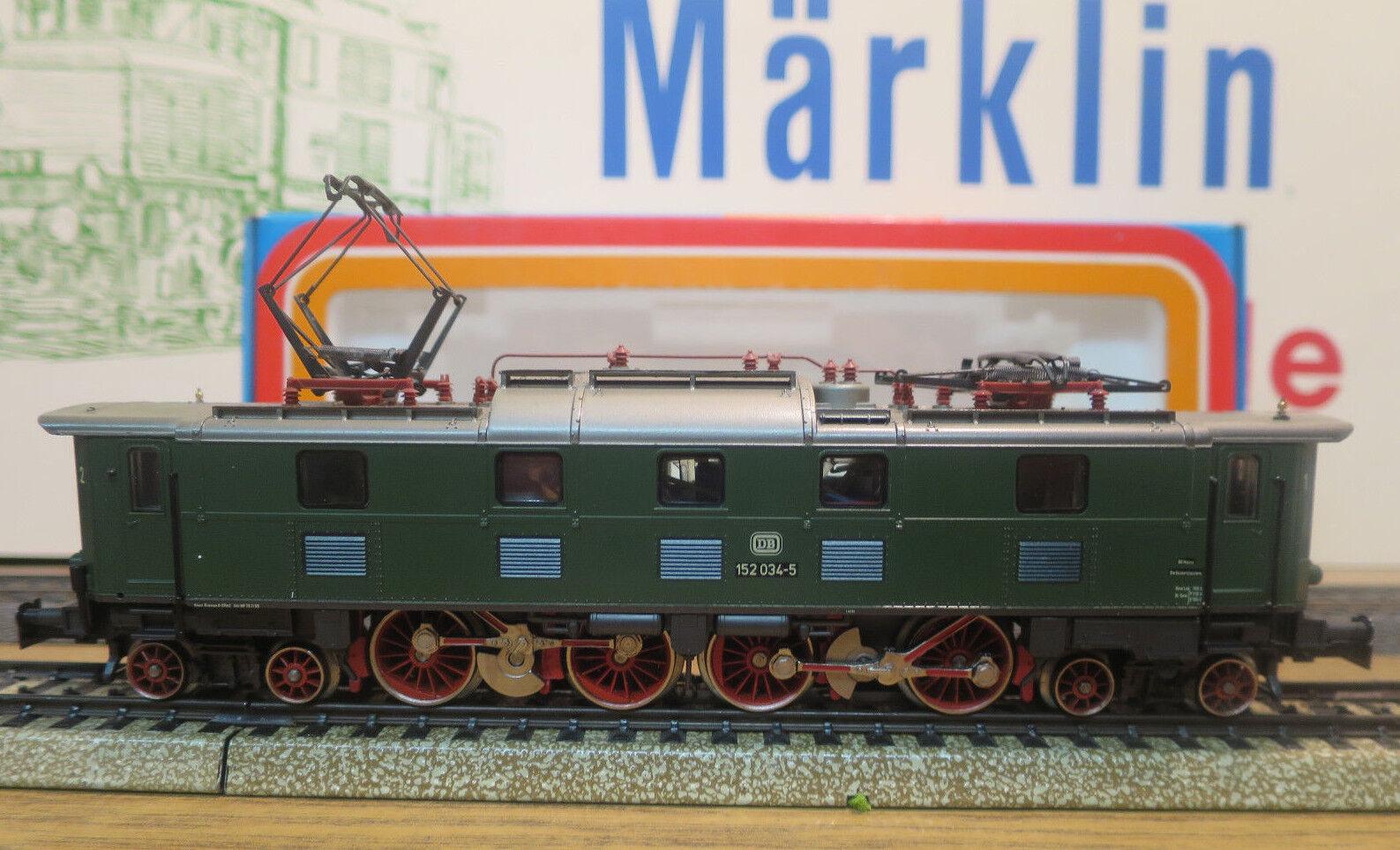 (MB) Märklin 3366 Br 152 Giunto Locomotiva Elettronico Trasformatore Testato