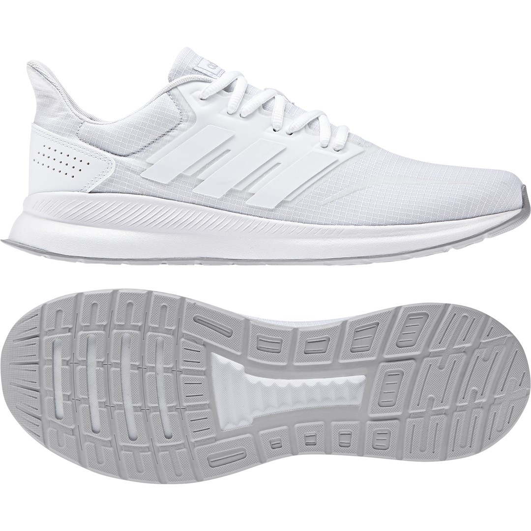 Adidas Men shoes Running Runfalcon Training Workout Gym White New F36211