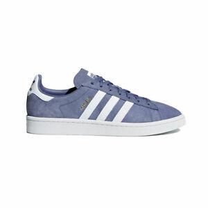 Men-039-s-Adidas-Originals-Campus-Raw-Indigo-AQ1089-SZ-4-13-Suede-Casual-Sneakers