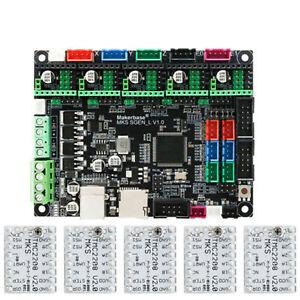 MKS TMC2208 V2.0 Stepper Driver Board mit Kühlkörper Ersatz für 3D Drucker Hot
