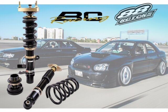 BC RACING BR SERIES FULLY ADJUSTABLE COILOVERS 2000-2004 Subaru Outback